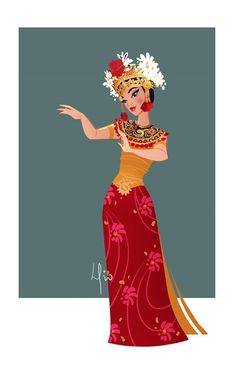 This is the sketch of my brother Elio for the Balinese dancer, a project I am working in Singapore and Jakarta