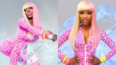 Many artists often change their names during the course of their careers. Whether they shorten their name or give themselves an alias. For Lil Nas X it is all about paying homepage to one of his favorite artist in Nicki Minaj. What better way for the 21-year-old artist to show his love then to dress up for Halloween as Nicki Minaj. Lil Nas X went on his Twitter account Friday (October 30) sharing his new look for one day. He would also go on to share throwback photos of his 2019 custome paying t Hip Hop News, Hip Hop Artists, 21 Years Old, One Day, Nicki Minaj, New Look, October, Dress Up, Friday