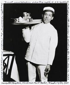 Langston Hughes at Wardman Park Hotel in Washington, DC - 1925