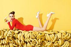 bananalicious. aldo's summer campaign