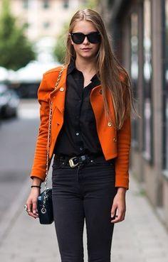 orange + black... a lethal combo ♥