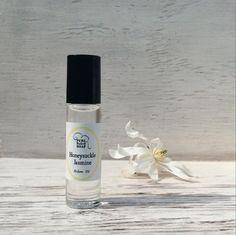 Honeysuckle & Jasmine Perfume Oil  organic by PureNakedSoap