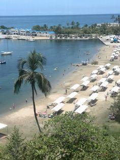 Puerto Azul Yacht Club, very classy, besides the beach they had 4 swimming pools, que rico! Naiguata,  Venezuela