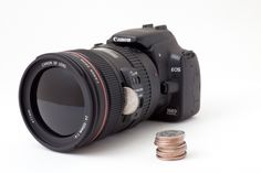 Photography Geek Alert! DSLR Bank! A realistic DSLR replica that holds money inside!