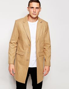 Love this?  Another Influence Wool Blend Contrast Overcoat - Tan - http://www.fashionshop.net.au/shop/asos/another-influence-wool-blend-contrast-overcoat-tan/ #ANOTHER, #AnotherInfluence, #Blend, #ClothingAccessories, #Contrast, #Influence, #Male, #Mens, #MensJackets, #Overcoat, #Tan, #Wool #fashion #fashionshop