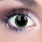 Green Manga Contact Lenses