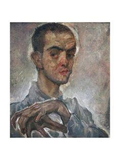 Giclee Print: Portrait of Austrian Painter Max Oppenheimer (Vienna, York, 1910 by Egon Schiele : Modern Art, Contemporary Art, Ways Of Seeing, Gustav Klimt, Portrait Art, Vienna, Find Art, Oil On Canvas, Giclee Print