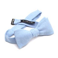 Noeud papillon bleu ciel en lin Le Coq en Pap' Coq, Costume, Fashion, Accessories, Gowns, Color, Moda, Fashion Styles, Costumes