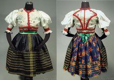 Authentic woman's folk costume Sambron, Slovakia - Carpatho-Rusyn ethnic dress   embroidered blouse Folk Costume, Costumes, Folk Clothing, Ethnic Dress, Embroidered Blouse, All Things, Russia, African, Embroidery