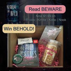 Mundie Moms: BEHOLD THE BONES by Natalie C. Parker / Signed ARC Giveaway!