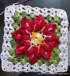 Que tal fazer a Capa de Botijão com a Flor Raio de Luz para trazer beleza e cara nova para sua cozinha? O passo a passo para essa linda ...