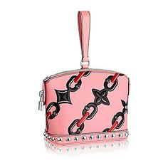 Mini Lockit ($2,280) ❤ liked on Polyvore featuring bags, handbags, monogrammed handbags, kiss-lock handbags, oversized handbags, flower print handbags and formal purse