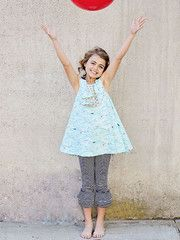 Lily Belle Pinofore Pattern and Ruffled Leggings