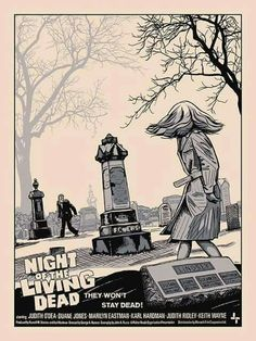 night of the living dead horror movie