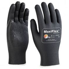 Gants de protection - manipulation et manutention - Gant de manutention enduit à picots MAXIFLEX 34847