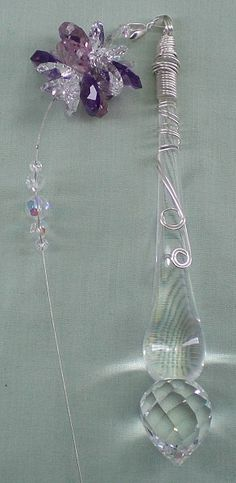 Kissing Birds on Branch Suncatcher Beaded Sun Catcher Stained Glass Effect Resin