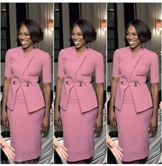 First Lady Michelle Obama Biopic B. First Lady of New Hope Baptist Church C. First one in line to vote on Nov. Workwear Fashion, Work Fashion, Fashion Outfits, Church Fashion, Fashion Styles, Fashion Fashion, Fashion News, Corporate Fashion, Corporate Attire