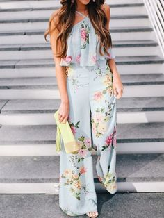 Bohemia Style Floral Printed Jumpsuit Bohemia Style Floral Printed jumpsuit outfit casual jumpsuit outfit casual summer jumpsuit outfit jumpsuits for women jumpsuits casual jumpsuits summer jumpsuits boho jumpsuits work Jumpsuit Outfit, Casual Jumpsuit, Floral Jumpsuit, Printed Jumpsuit, Summer Jumpsuit, Backless Jumpsuit, Jumpsuit Style, Striped Jumpsuit, Floral Romper