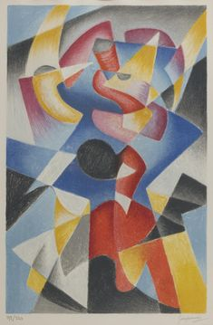 Buy online, view images and see past prices for GINO SEVERINI. Invaluable is the world's largest marketplace for art, antiques, and collectibles. Italian Painters, Italian Artist, Gino Severini, Italian Futurism, Modern Art, Contemporary Art, Futurism Art, Geometric Drawing, Abstract Art