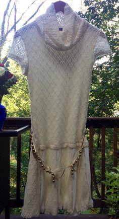 F 2 Knit Sweater Dress Size 2 European Designer Beautiful | eBay $149.99