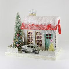 Cody Foster Christmas House - Red Roof Cottage