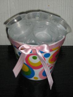 Cupcake bouquet using 2oz cups