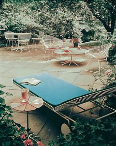 Coming Up Roses: The Petal Collection | The Petal Collection accompanied by Harry Bertoia's Diamond and Side Chairs | PC: Knoll Archive | Knoll Inspiration