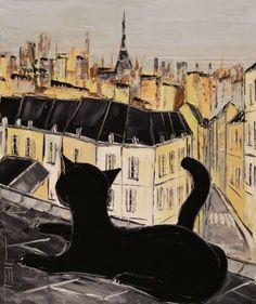 Black le Chat, Toile de JIEL