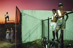 Available for sale from Robert Klein Gallery, Alex Webb, Sancti Spiritus, Cuba Fuji Crystal Archive print, 20 × 30 in Magnum Photos, Color Photography, Street Photography, Glitter Photography, Urban Photography, Conceptual Photography, Photography Classes, Light Photography, Film Photography