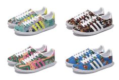 THE FARM COMPANY × ADIDAS ORIGINALS GAZZELLE OG WC FARM W 4COLORS
