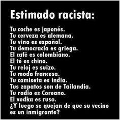 No al racismo