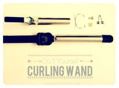 DIY Curling Wand From Old Curling Irons, Make Any Size You Want!! #Fashion #Beauty #Trusper #Tip