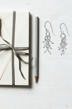 "Sterling silver ""jacks"" earrings - inspired by the childhood game of jacks! Presents For Best Friends, Mothers Day Presents, Gifts For Mom, Retirement Gifts For Women, Unique Gifts For Women, 50 And Fabulous, Sterling Silver Earrings, Dangle Earrings, Holiday Fashion"