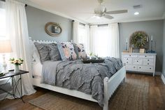 I love this color for my master bedroom....maybe without a little more beige undertones? #beautifulbedrooms