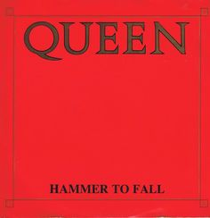 Queen – Hammer To Fall – 12 QUEEN 4 – 12-inch Record