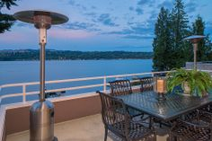 This is definitely the place to spend all of your summer nights. This outdoor living area is spacious, open, and has incredible waterfront views. As you can see it also has extra room for outdoor heaters just in case it gets chilly. Mercer Island, WA Coldwell Banker BAIN $5,695,000