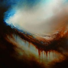 "Large Abstract Oil Painting by Simon Kenny ""Retribution"" on Etsy, $5,732.59"