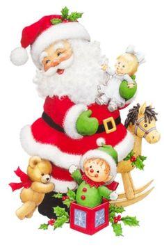 Père-Noël avec les jouets 25