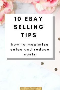 Ebay Selling Tips, Ebay Tips, Selling Online, Resale Online, Making Money On Ebay, Ebay Office, Sell Your Stuff, Things To Sell, Garage Sale Tips