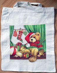 Weihnachtstasche-weihnachtlicher-Baer