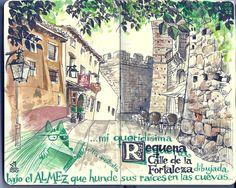 de vuelta con el cuaderno: Cuaderno Muaré (1. Valencia) Mi queridísima Requena