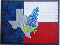 Uses Texana Designs stamp.