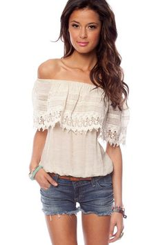 ca49bc1ebb1 Emma Off Shoulder Top Summer Wear, Summer Outfits, Cute Outfits, Spring  Summer Fashion