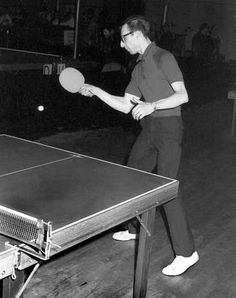 Ping Pong    Used to really love this game.  Have a pretty mean serve.