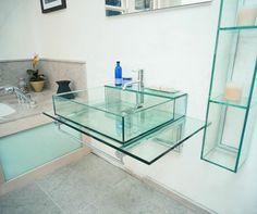 Glorious glass basin