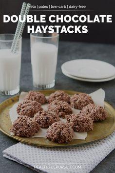 Double Chocolate Haystacks (keto paleo low-carb   Mein Blog: Alles rund um die Themen Genuss & Geschmack  Kochen Backen Braten Vorspeisen Hauptgerichte und Desserts