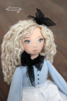 Блог Мои любимые игрушки. Анна Балябина, авторские куклы и игрушки: Cloth dolls
