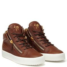 DANIEL - BROWN - Mid Tops