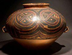 Neolithic Yangshao Painted Terracotta Vessel - H.778 Origin: China Circa: 3000 BC to 1500 BC