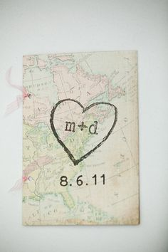 Map programs. Wedding Paper Divas. Photography by gulnarastudio.com,